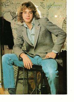 Leif Garrett John Schneider teen magazine pinup clipping stool bulge Tiger Beat