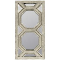 "Helley 36"" High Rectangular Wall Mirror"