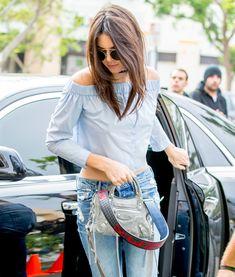 Kendall Jenner Balenciaga Mini City Bag