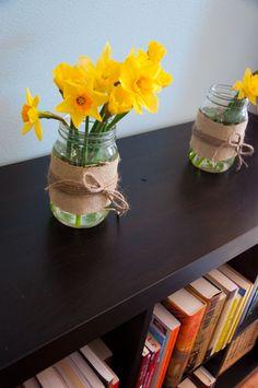 rootandblossom: Decorating with Mason Jars