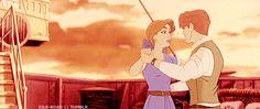Anya and Dimitri dancing!