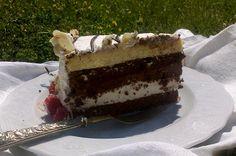 marquise con mousse bianca e al cioccolato di Ernst Knam
