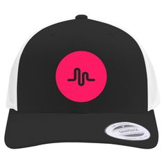 Musical Ly Embroidered Retro Embroidered Trucker Hat