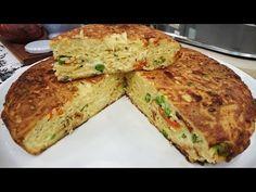 Tortilla reciclada de fideos a la española - YouTube