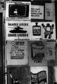 Atelier Populaire, ex-école des Beaux Arts, Paris, 1968