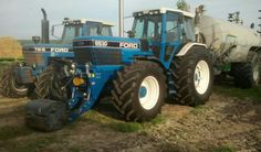 New Holland Tractor, Classic Tractor, Ford Tractors, Fiat, Vehicles, Vintage, Farming, Ranch, Childhood