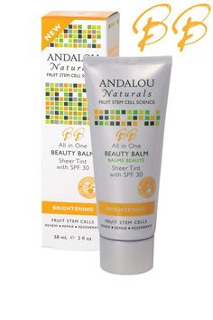 Andalou Naturals All-in-One Beauty Balm Sheer Tint, SPF 30 || Skin Deep® Cosmetics Database | Environmental Working Group