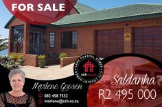 This spacious 4-bedroom family home is ideally situated in Saldanha, close to all amenities. The entrance hall leads to a large open lounge and then to spacious dining area and another lounge area with high ceilings that gives a sense of spaciousness and beautiful chandeliers for a quintessential vintage look. Cosy fireplace for the cold winter nights. Separate small study. #CCH #westcoast #saldanha #central #4bedroom #familyhome #propertymarketing #saldanhacentral #saldanhapropertyforsale Cosy Fireplace, Provinces Of South Africa, Small Study, 4 Bedroom House, High Ceilings, Entrance Hall, Coastal Homes, Lounge Areas, West Coast