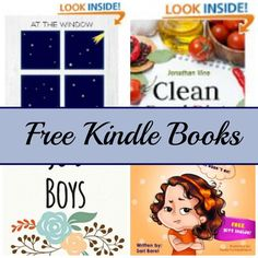 Free Kindle Book List: Clean Eating, At The Window, Jo's Boys, and More