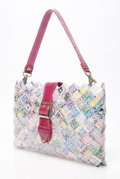 Ollin Arm Candy Honey Drew QR Color Code Crossbody Bag