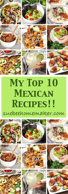 I've listed my top 10 Mexican food and drink recipes for your Cinco de Mayo party, or just any gathering of family and friends! Spicy Recipes, Mexican Food Recipes, Great Recipes, Drink Recipes, Favorite Recipes, Ethnic Recipes, Mexican Cooking, Mexican Dishes, Amazing Recipes