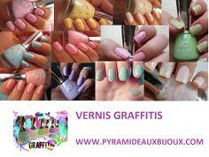 "Vernis ""graffitis"" en vente ici http://www.pyramideauxbijoux.com/recherche/graffiti/"