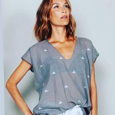 Gray Khadi tshirt #twonewyork