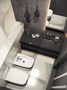 Фотография: Ванная в стиле Современный, Квартира, Проект недели, новостройка, Монолитный дом, Кишинев, Молдова, MUSA Studio, 3 комнаты, Более 90 метров – фото на InMyRoom.ru