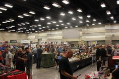 Photo from the first Utah Valley Gun Show held July 2013 at the Utah Valley Convention Center in Provo, UT