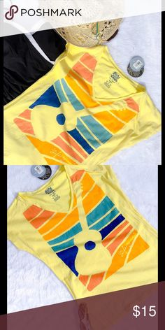 NWT Life is Good T-shirt Life is Good T-Shirt.  Good Vibes, fitted top in great yellow color!!  Size: L.  NWT!!! Life is Good Tops Tees - Short Sleeve