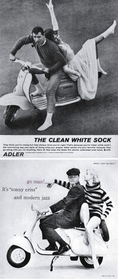 2 vintage ads by diann