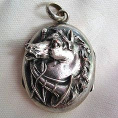 The best horse head locket we have seen!