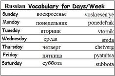 Week Of The Russian 102