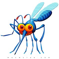 Are You a Mosquito Magnet? Why mosquitoes like some people more than others-Tips on keeping mosquitoes at bay & the best mosquito repellents. What Attracts Mosquitoes, Best Mosquito Repellent, Monster Illustration, Mosquitos, Workout Guide, Fun Workouts, Workout Exercises, Rock Art, Whimsical