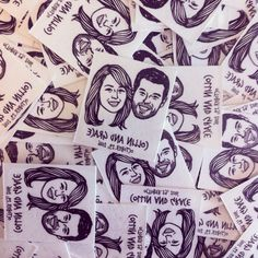 Custom Portrait Tattoo @lilimandrill www.lilimandrill.fr #etsy #EtsyGifts #bachelorette #etsywedding #wedding #mariage #bride #diy #couple #giftforcouple #DifferenceMakesUs #gift #tattoo #temporarytattoo #favor #weddingfavor #party #engagement #bride