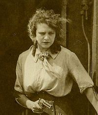 Helen Gibson (August 27, 1892 – October 10, 1977) was an American film actress, vaudeville performer, radio performer, film producer, trick rider and rodeo performer; and is considered to be the first American professional stunt woman