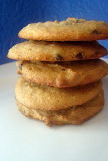Peanut Butter Chocolate Chip Cookies (Grain free, GAPS)