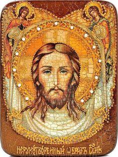 Нерукотворени лик Господа Исуса Христа. Lord Jesus Christ | Nerukotvoreni obraz icon ☩