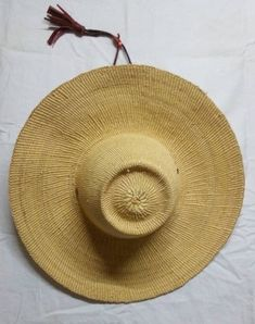 Woven straw hat/ghana hat style/beach hat style/weekend hat style/women horse riding hat Winter Bedroom Decor, Horse Riding Hats, Basket Weaving, Hand Weaving, Holiday Hats, Hat Sizes, Leather Handle, Ghana, Baskets
