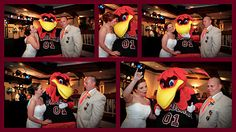 Cocky was at our wedding