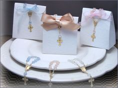 Rosary Bag Box Favor Kits (set of 12)