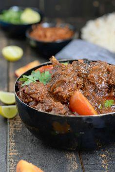 Gosht Aloo Bukhara ( Mutton in a Plum Gravy )