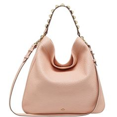 MULBERRY Eliza Hobo ( 1,365) ❤ liked on Polyvore Cute Handbags, Pink  Leather, 23926a164c