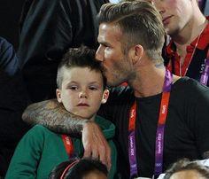 David Beckham, un auténtico 'padrazo' en las gradas de los Juegos Olímpicos #people #celebrities #sport