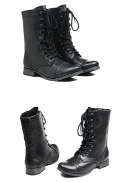 Combat Boots... Want some of these sooo bad.