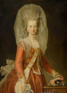 Noblewoman with a Mask, attrib. to Charles-Amédée-Philippe van Loo (French 1719-1795)