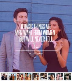 11 #Basic Things All Men 👨🏾💑 Want from Women 👠💋, but Will Never Tell 🙄🤐😶 ... - Love