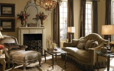 Curtains and wall color inspiration
