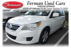 Used 2009 Volkswagen Routan 4dr Wgn SE - White
