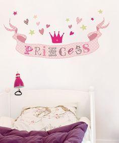 Muursticker Princess Prinsessen Kinderkamer decoratie bij kidsdecoshop.nl