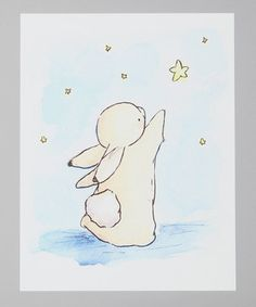 So cute! Love the whole series of bunny prints.