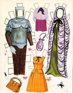 Gothic Tea Society: The Munsters Paper Dolls