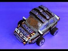 "Мастер-класс ""Машинка из конфет"". Тачки 2 / DIY: Car of sweets - YouTube"