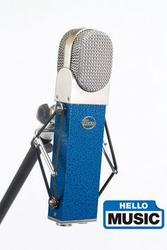 Blue Microphones Wood Box for Blueberry Microphone Mic Case Storage