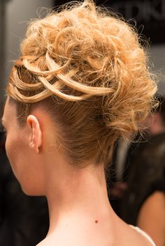 Hair by @Redken Canada #Hairstyle #Updo #FashionWeek