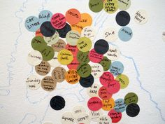 Scratch and Sniff Map of New York - Installation Piece