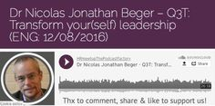 Hrmeetup. New Podcast available (ENG: 26'18 Min.): http://hrmeetup.org/thepodcastfactory-nicolas-jonathan-beger-q3t-eng/  At the end of this podcast (20'50) you will find our 3 HR questions related to our next event in September 2016!  Topic: What neuroscience and quantum physics have to do with stress and performance? On the Mic: Dr Nicolas Jonathan Beger Our sponsor: The Podcast Factory; transforma bxl & Le Plaza Brussels Presentation of our project: http://hrmeetup.org/flyer-presentation