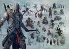 Assassin's Creed Forever : Assassin's Creed concept arts