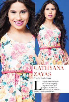 Cathyana Zayas: Ganadora del premio Fotogénica Juvenil Spring/Summer 2014