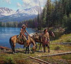 Native American Paintings, Native American Pictures, Indian Pictures, Indian Paintings, Cool Paintings, Native American Warrior, Native American Indians, Plains Indians, Woman Riding Horse